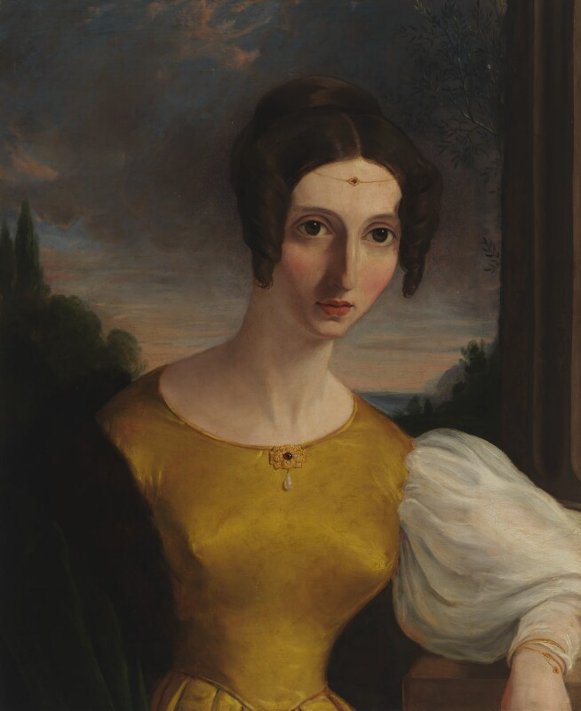 Harriet Mill (née Taylor), by Unknown artist, circa 1834 - NPG 5489 - © National Portrait Gallery, London
