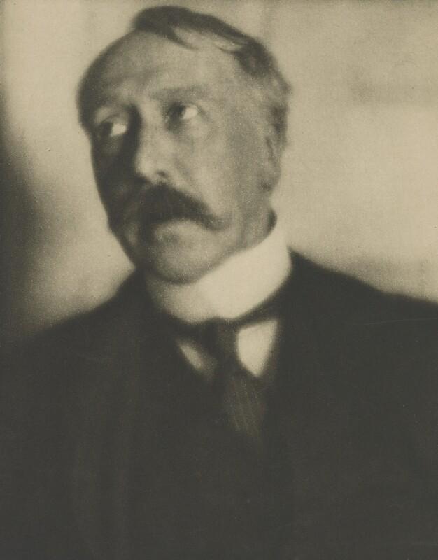 George Moore, by Alvin Langdon Coburn, 1908 - NPG P169 - © The Universal Order