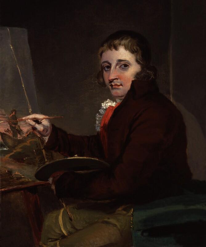 George Morland, by John Raphael Smith, 1792 - NPG 5931 - © National Portrait Gallery, London