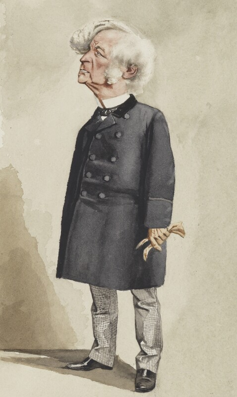 Samuel Morley, by Adriano Cecioni, published in Vanity Fair 15 June 1872 - NPG 5786 - © National Portrait Gallery, London