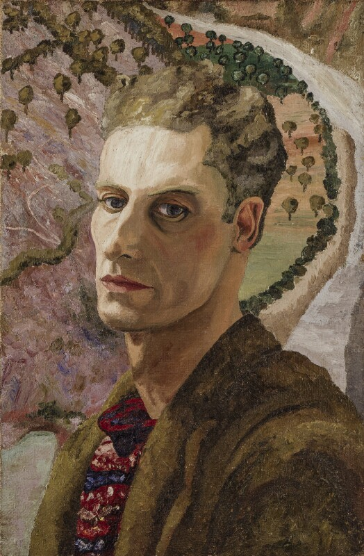 Cedric Morris, by Sir Cedric Lockwood Morris, circa 1930 - NPG 5407 - © National Portrait Gallery, London