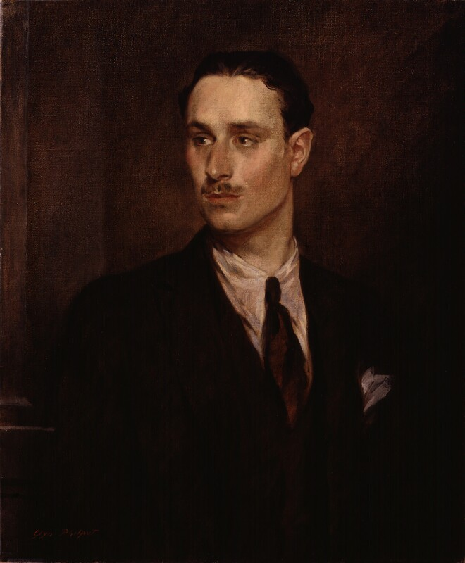 Oswald Mosley, by Glyn Warren Philpot, 1925 - NPG L184 - Photograph © National Portrait Gallery, London