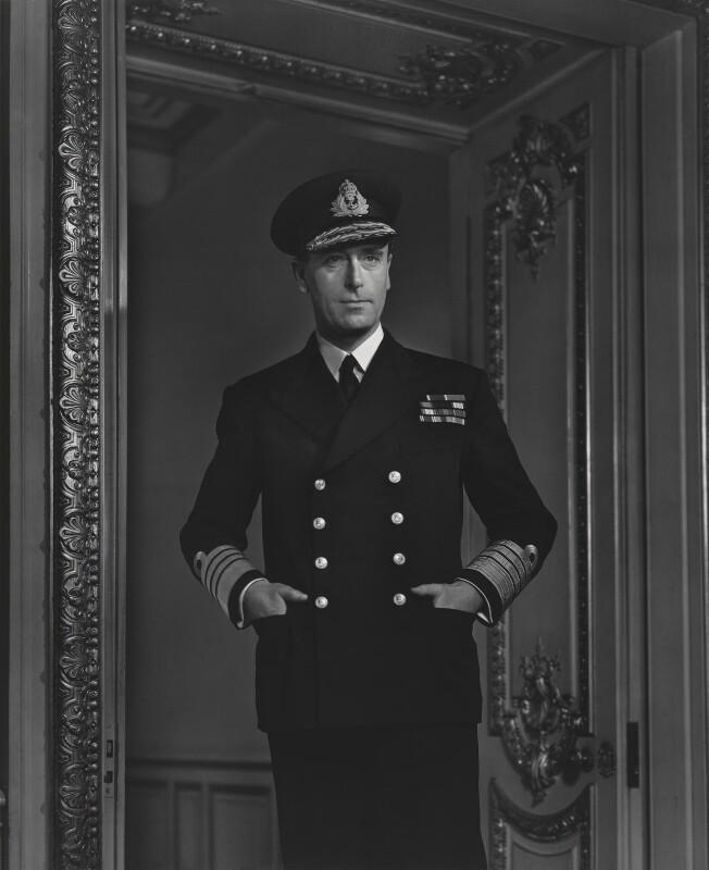 Louis Mountbatten, Earl Mountbatten of Burma, by Yousuf Karsh, 1941 - NPG P252 - © Karsh / Camera Press