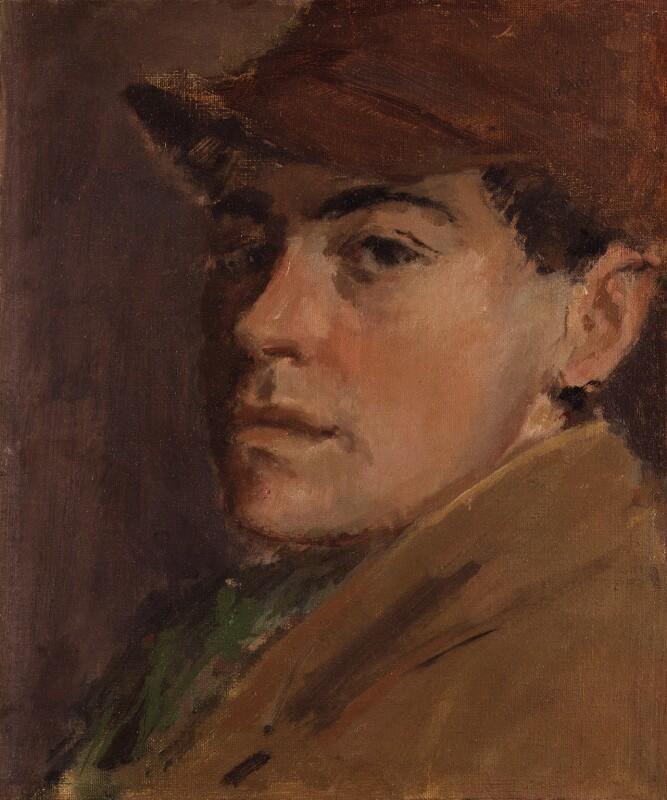 Rodrigo Moynihan, by Rodrigo Moynihan, 1939 - NPG 5827 - © National Portrait Gallery, London