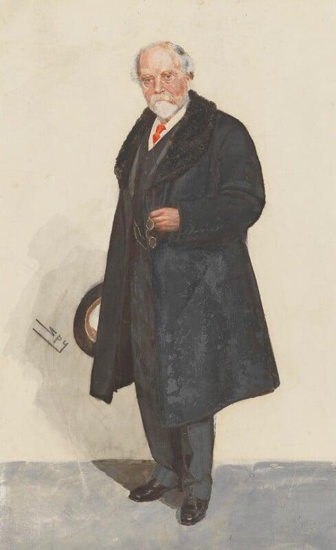 Sir John Murray, by Sir Leslie Ward,  - NPG 5392 - © National Portrait Gallery, London