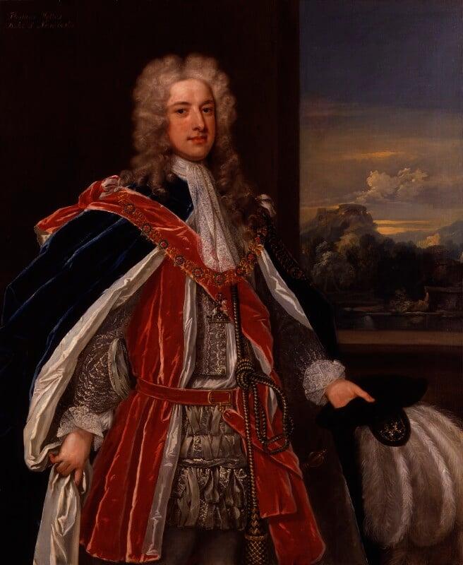 Thomas Pelham-Holles, 1st Duke of Newcastle-under-Lyne, attributed to Charles Jervas, circa 1721 - NPG 5582 - © National Portrait Gallery, London