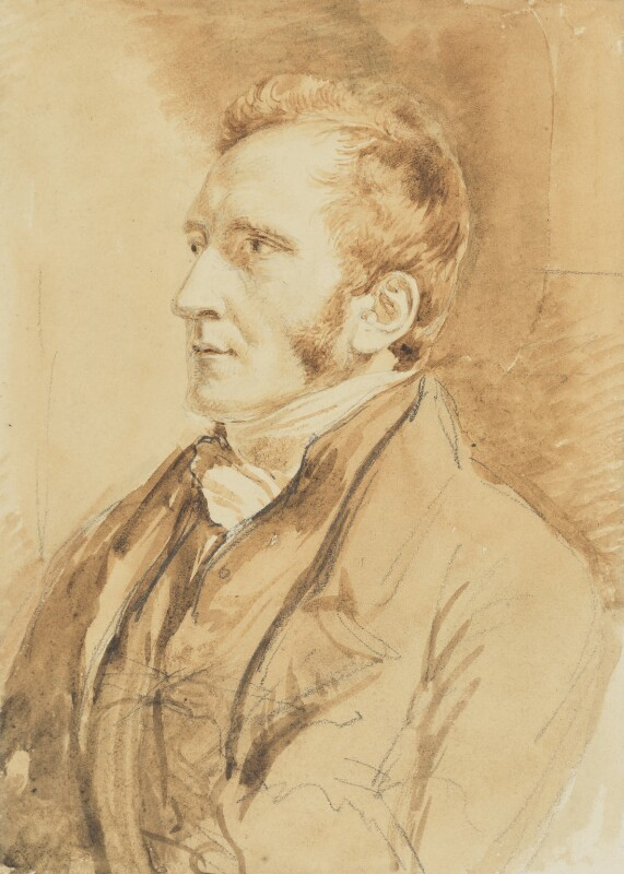William Newman, by John Linnell, circa 1820 - NPG 5204 - © National Portrait Gallery, London
