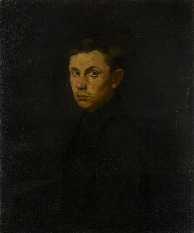 Ben Nicholson, by Mabel Pryde, circa 1910-1914 - NPG 5553 - © National Portrait Gallery, London
