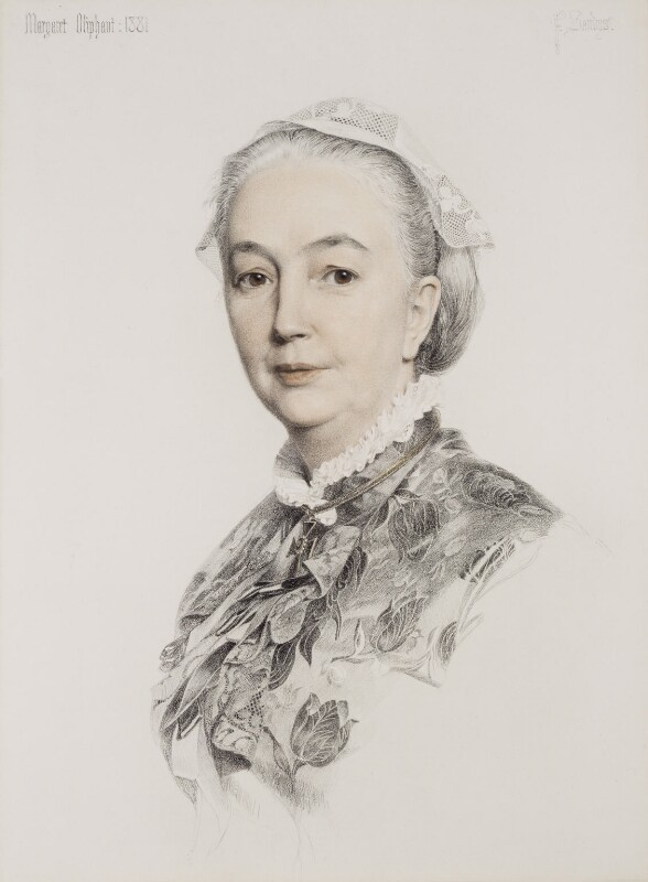 Margaret Oliphant Wilson Oliphant, by (Anthony) Frederick Augustus Sandys, 1881 - NPG 5391 - © National Portrait Gallery, London