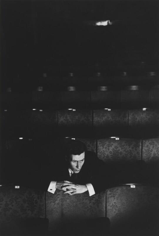 John Osborne, by Bob Willoughby, 1957 - NPG P139 - © Bob Willoughby 1957