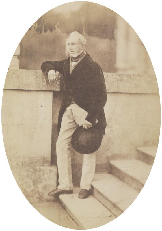 Henry John Temple, 3rd Viscount Palmerston, by Graham Vivian, 1858 - NPG P152 - © National Portrait Gallery, London