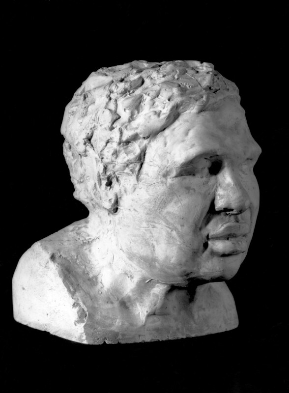 Sir Eduardo Paolozzi, by Sir Eduardo Luigi Paolozzi, 1987 - NPG 6020 - Photograph © National Portrait Gallery, London