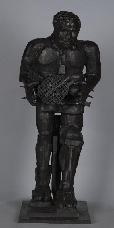 Sir Eduardo Paolozzi, by Sir Eduardo Luigi Paolozzi, 1987 - NPG 5952 - Photograph © National Portrait Gallery, London