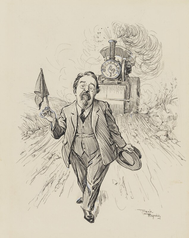 Image result for Drawings of Sidney Webb