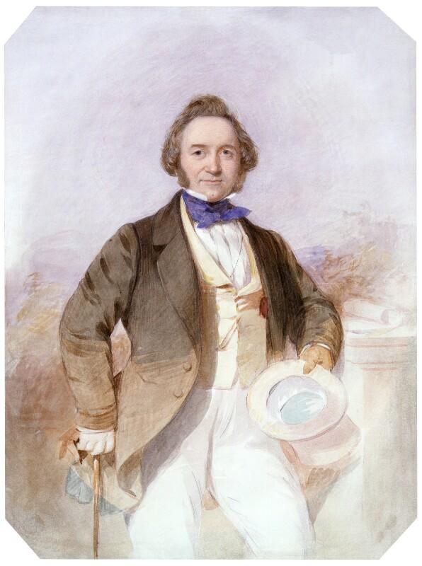 Sir Joseph Paxton, by Octavius Oakley, circa 1850? - NPG 5565 - © National Portrait Gallery, London
