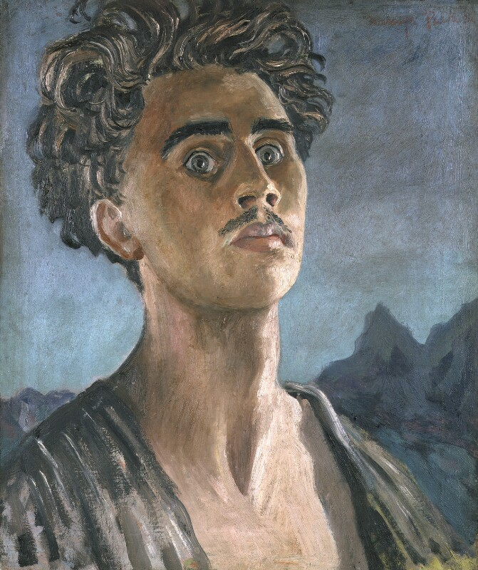 Mervyn Laurence Peake, by Mervyn Laurence Peake, 1932 - NPG L191 - With kind permission of the Mervyn Peake estate; on loan to the National Portrait Gallery, London
