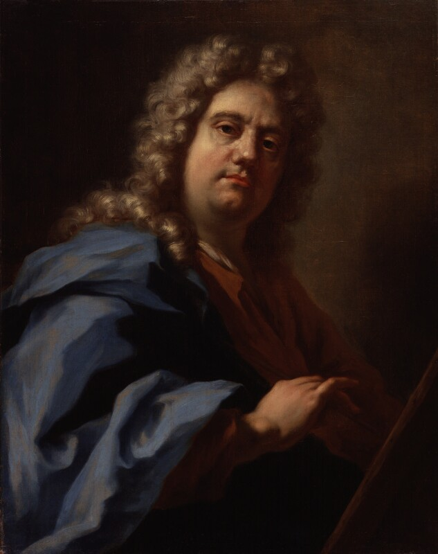 Giovanni Antonio Pellegrini, by Giovanni Antonio Pellegrini, circa 1717 - NPG 5699 - © National Portrait Gallery, London