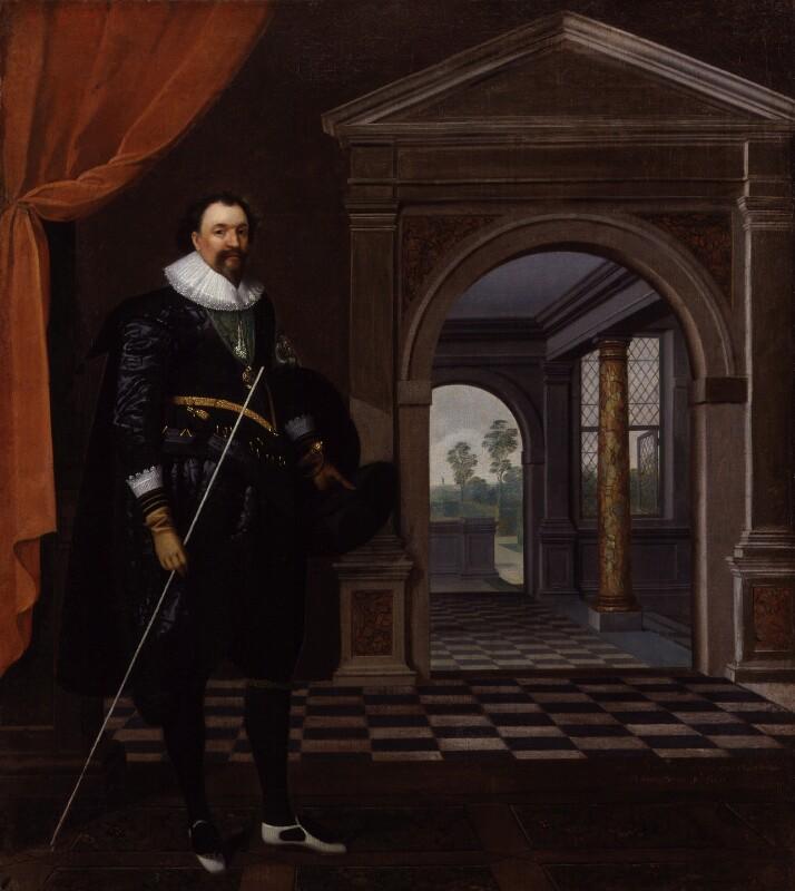 William Herbert, 3rd Earl of Pembroke, after Daniel Mytens, circa 1625 - NPG 5560 - © National Portrait Gallery, London