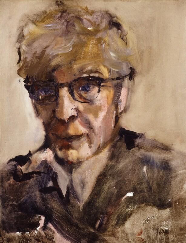 Norman Wingate Pirie, by Yolanda Sonnabend, 1984 - NPG 5714 - © National Portrait Gallery, London