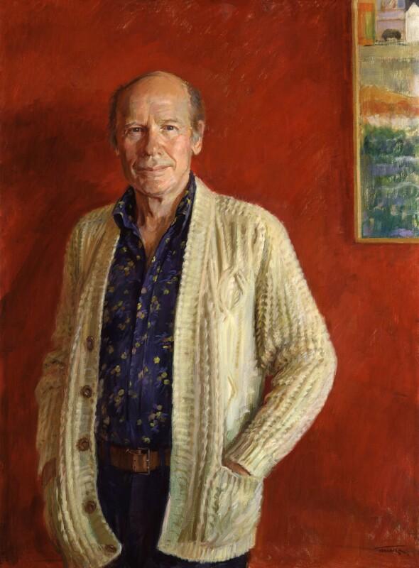 Roy Francis Plomley, by June Mendoza, 1985 - NPG 5915 - © June Mendoza / National Portrait Gallery, London