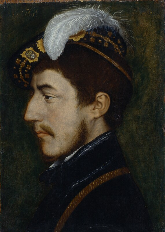 Sir Nicholas Poyntz, after Hans Holbein the Younger, circa 1530-1599 - NPG 5583 - © National Portrait Gallery, London