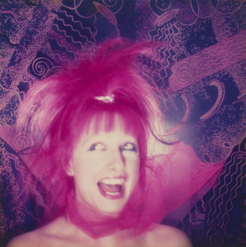 Zandra Rhodes, by Norman Parkinson, 1981 - NPG P850 - © Norman Parkinson Archive