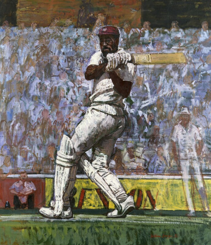 Viv Richards, by William Bowyer, 1986 - NPG 5999 - © William Bowyer