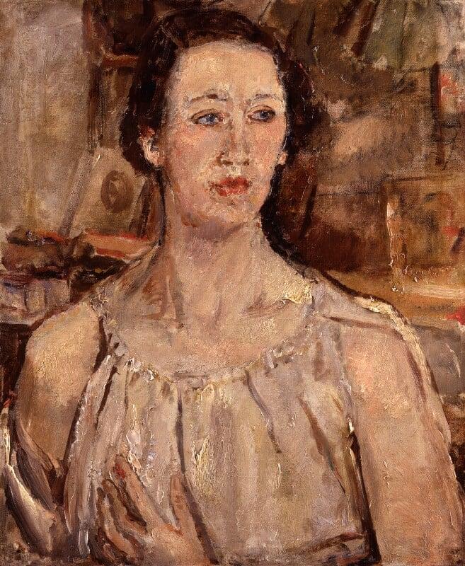 Flora Robson, by Dame Ethel Walker, 1932 - NPG 5972 - © National Portrait Gallery, London