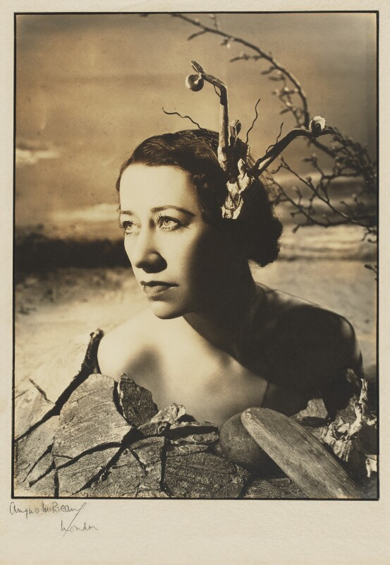 Flora Robson, by Angus McBean, 1938 - NPG P374 - Angus McBean Photograph. © Harvard Theatre Collection, Harvard University.