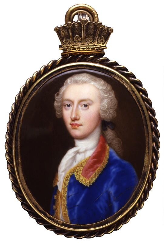 William Henry Nassau de Zuylestein, 4th Earl of Rochford, by Christian Friedrich Zincke, circa 1740-1745 -NPG 5796 - © National Portrait Gallery, London