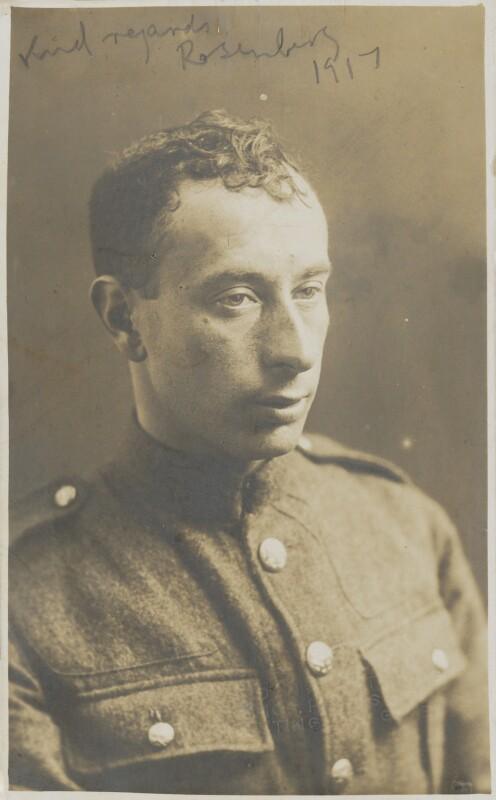 Isaac Rosenberg, by London Art Studios, circa 1915 - NPG P230 - © National Portrait Gallery, London