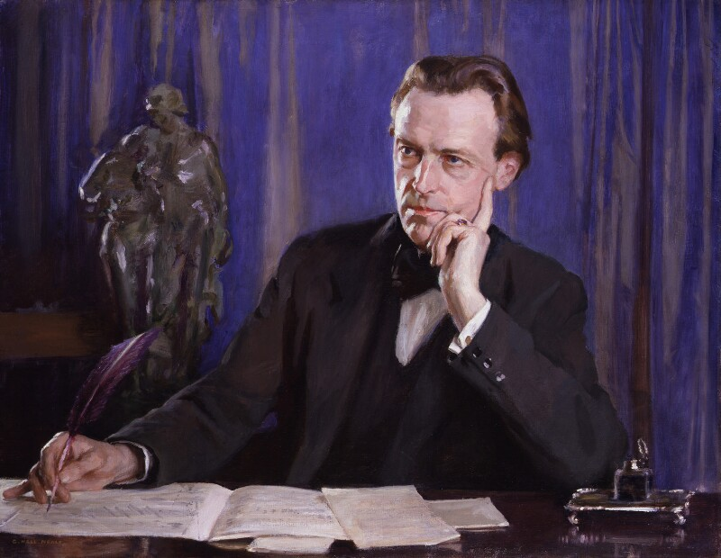 Cyril Scott, by George Hall-Neale, exhibited 1930 - NPG 5303 - © National Portrait Gallery, London