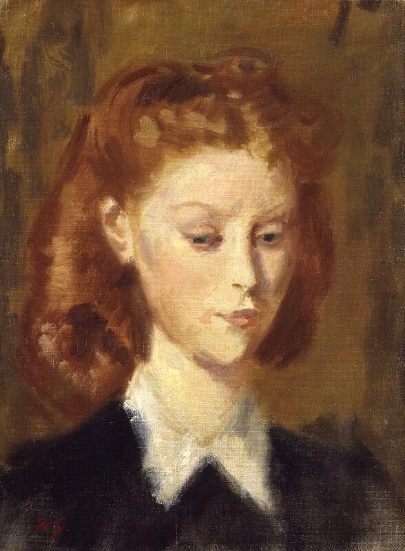 Moira Shearer, by Robin Craig Guthrie, circa 1946 - NPG 5974 - © estate of Robin Craig Guthrie / National Portrait Gallery, London