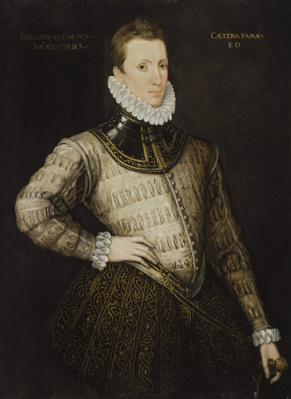 Sir Philip Sidney, by Unknown artist, circa 1576 - NPG 5732 - © National Portrait Gallery, London