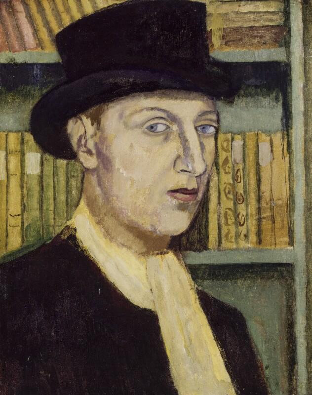 Sir Osbert Sitwell, by Nina Hamnett, circa 1918 - NPG 5916 - © reserved; collection National Portrait Gallery, London