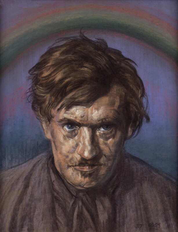 Austin Osman Spare, by Austin Osman Spare, 1937 - NPG 6026 - © reserved; collection National Portrait Gallery, London