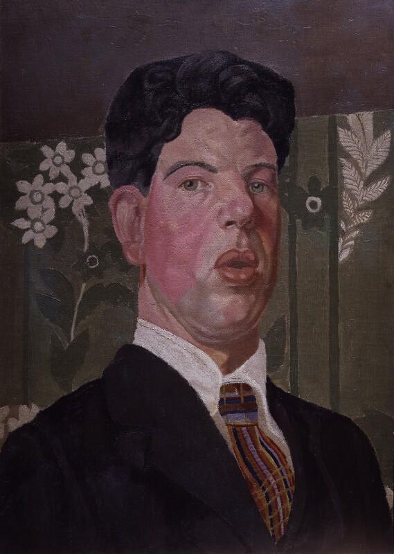 Gilbert Spencer, by Gilbert Spencer, 1919 - NPG 5290 - © estate of Gilbert Spencer / Bridgeman Art Library www.bridgemanart.com