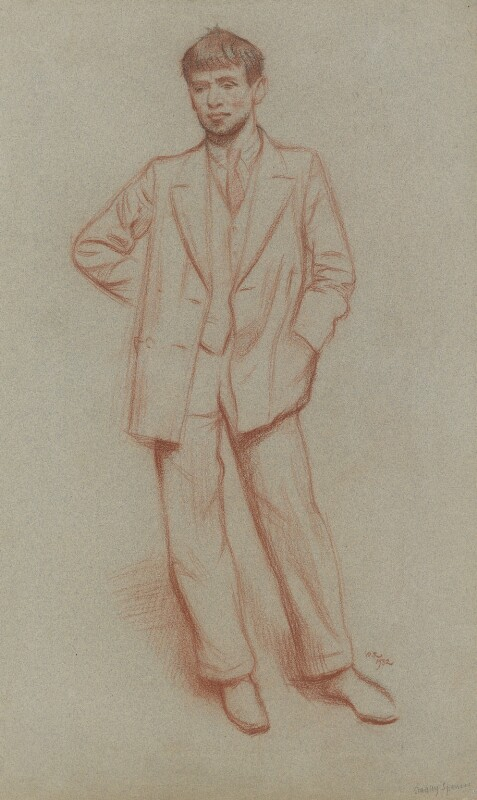 Sir Stanley Spencer, by Sir William Rothenstein, 1932 - NPG 5499 - © National Portrait Gallery, London