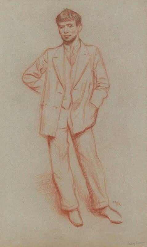 Sir Stanley Spencer, by Sir William Rothenstein, 1932 - NPG 5499 - © National Portrait Gallery, London