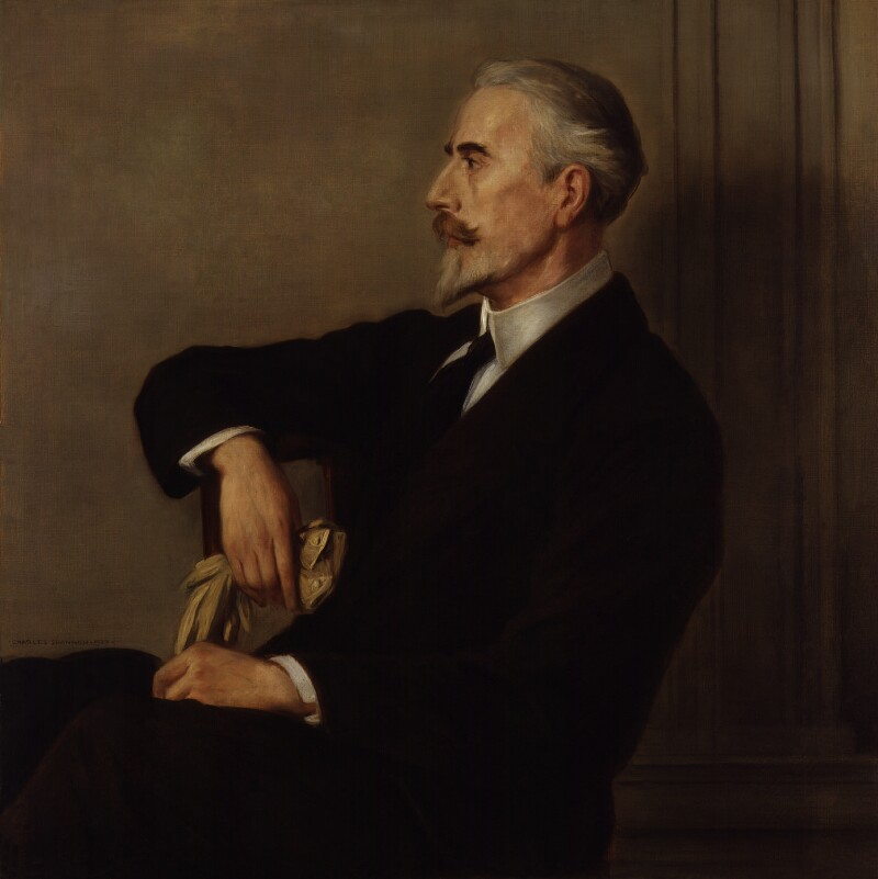 Henry Wickham Steed, by Charles Haslewood Shannon, 1920 - NPG 5745 - © National Portrait Gallery, London