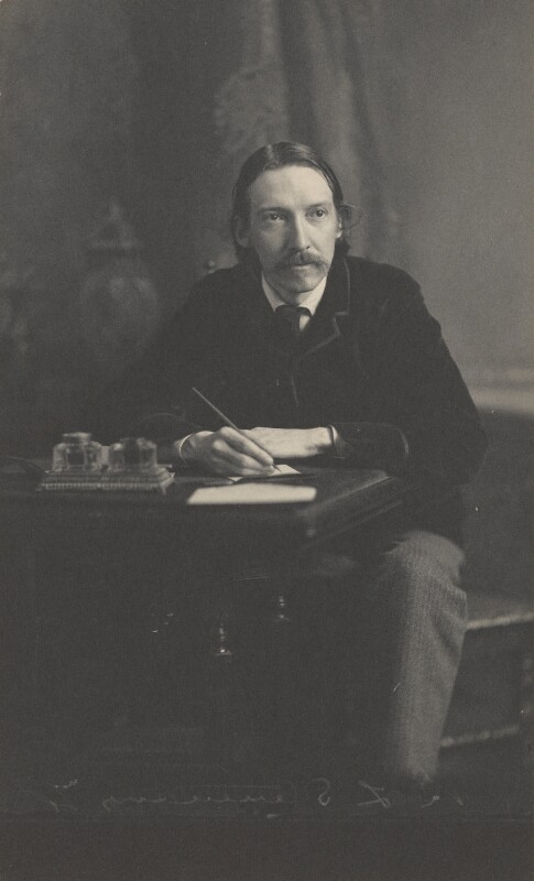 Robert Louis Stevenson, by James Notman, 1880s - NPG P224 - © National Portrait Gallery, London