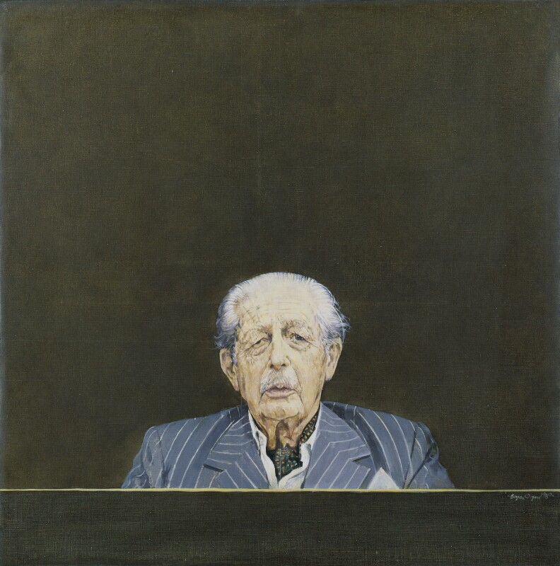 Harold Macmillan, 1st Earl of Stockton, by Bryan Organ, 1980 - NPG 5366 - © National Portrait Gallery, London