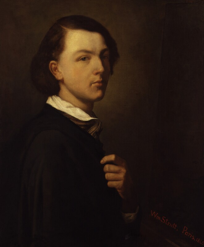 William Strutt, by William Strutt, 1845 - NPG 5527 - © National Portrait Gallery, London