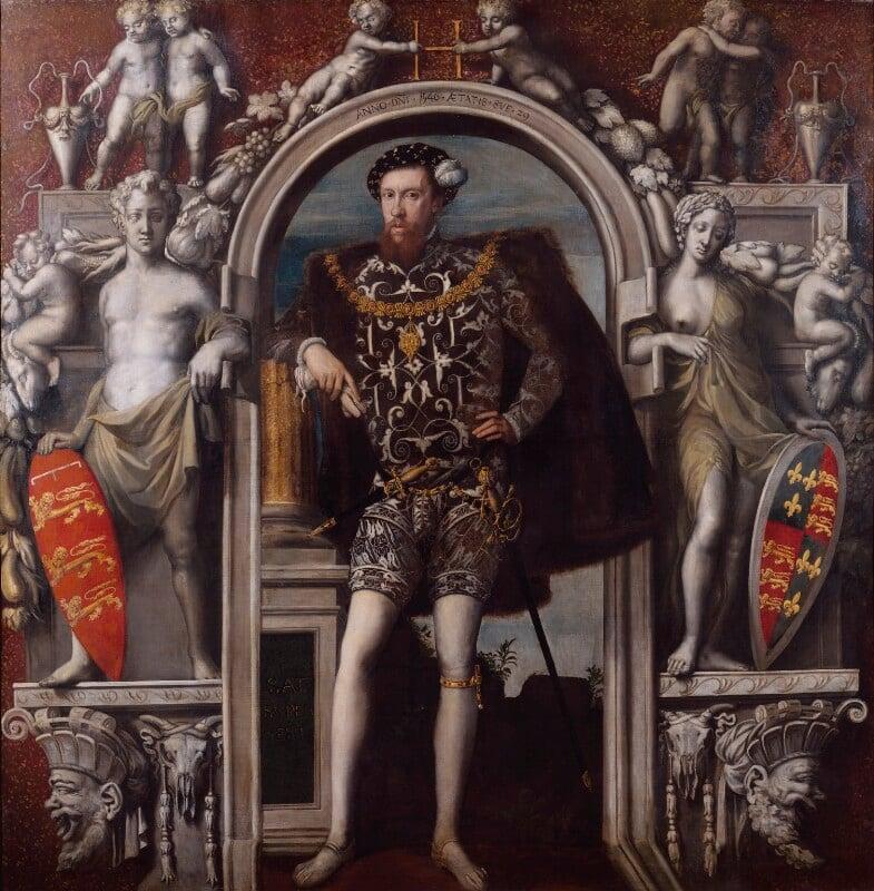 Henry Howard, Earl of Surrey, by Unknown Italian artist, 1546 - NPG 5291 - © National Portrait Gallery, London