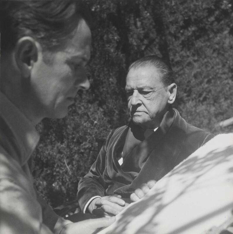 Graham Sutherland; Somerset Maugham, by Cecil Beaton, 1949 - NPG P155 - © Cecil Beaton Studio Archive, Sotheby's London