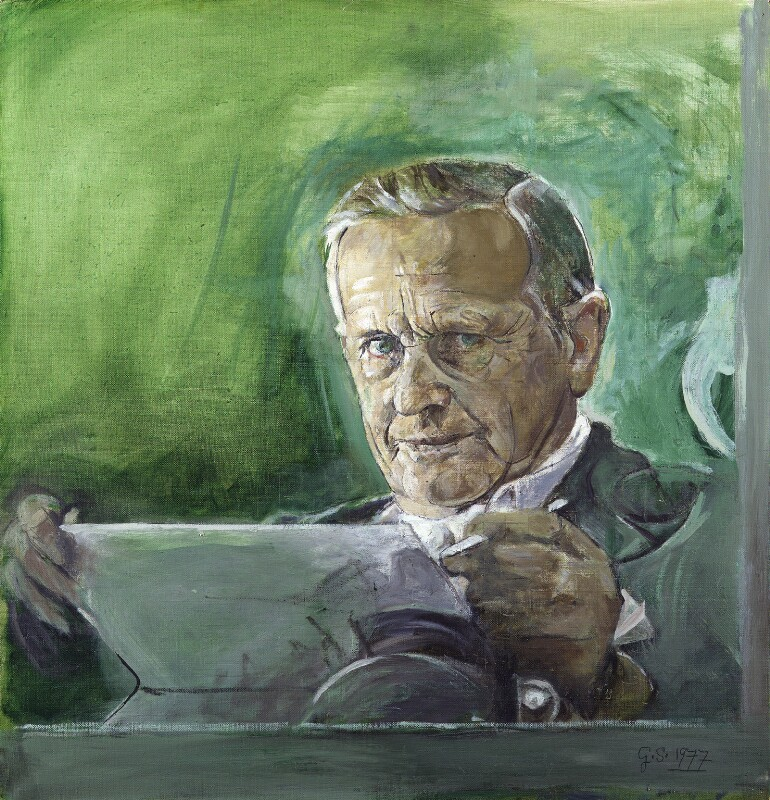 Graham Sutherland, by Graham Sutherland, 1977 - NPG 5338 - © National Portrait Gallery, London