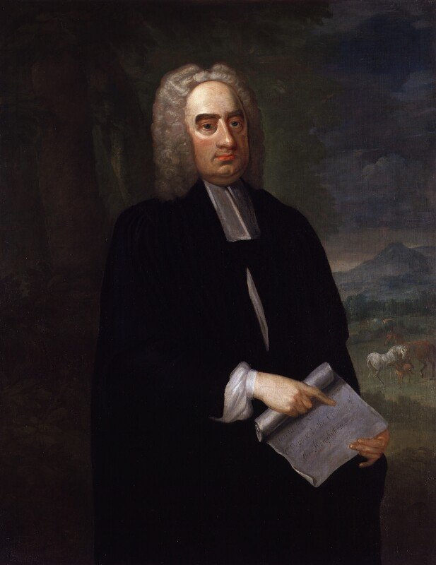Jonathan Swift, by Francis Bindon, circa 1735 - NPG 5319 - © National Portrait Gallery, London