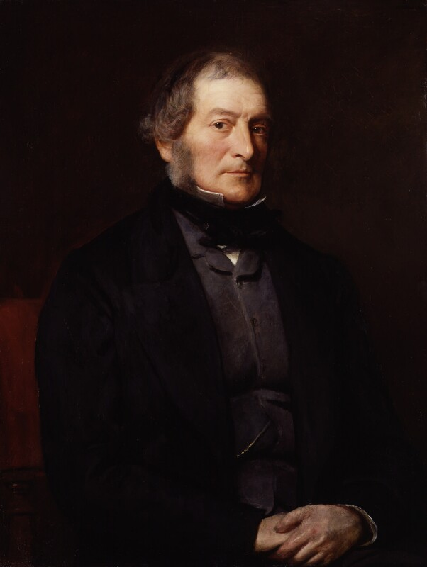 Henry Labouchere, Baron Taunton, by William Menzies Tweedie, exhibited 1863 - NPG 5427 - © National Portrait Gallery, London