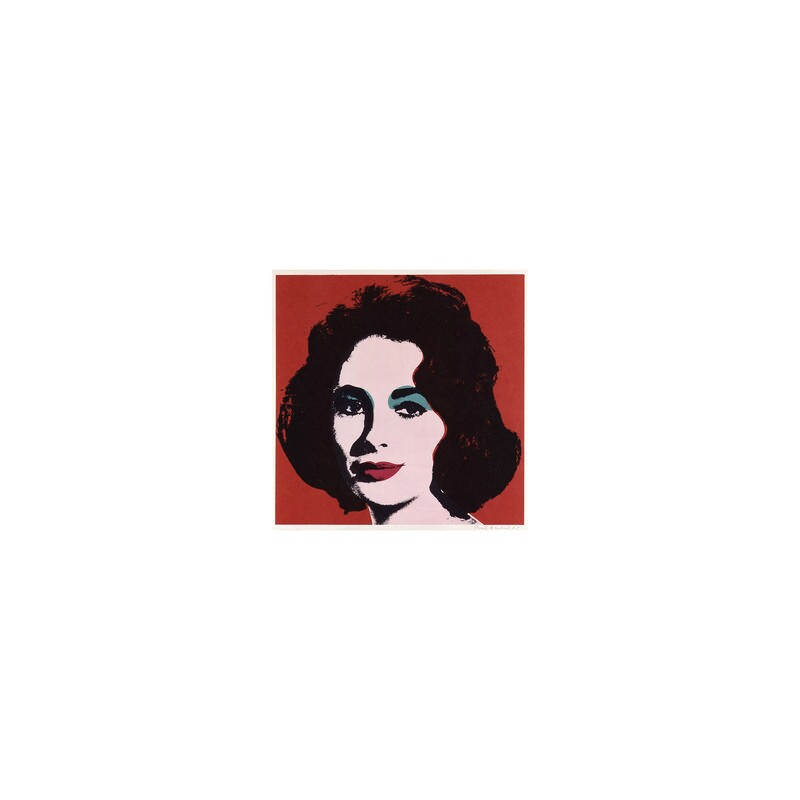 Dame Elizabeth Taylor, by Andy Warhol, 1967 - NPG 6051 - © 2018 The Andy Warhol Foundation for the Visual Arts, Inc. / Artists Rights Society (ARS), New York and DACS, London