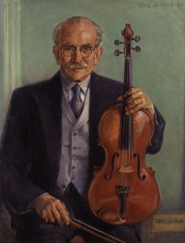 Lionel Tertis, by George Herbert Buckingham Holland, 1962 - NPG 5577 - © National Portrait Gallery, London